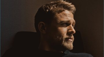Charlie Hunnam sits for a series of portraits commissioned by The New York Times.