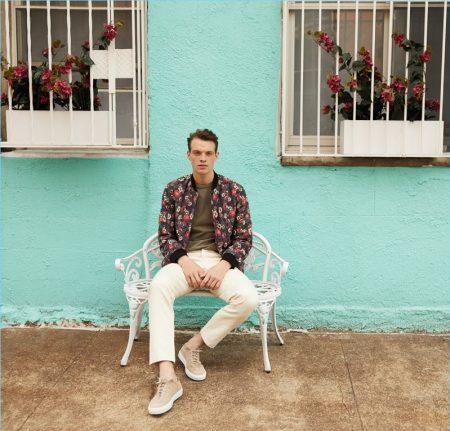 Fresh Prints: Rocky Harwood Stars in East Dane Style Edit