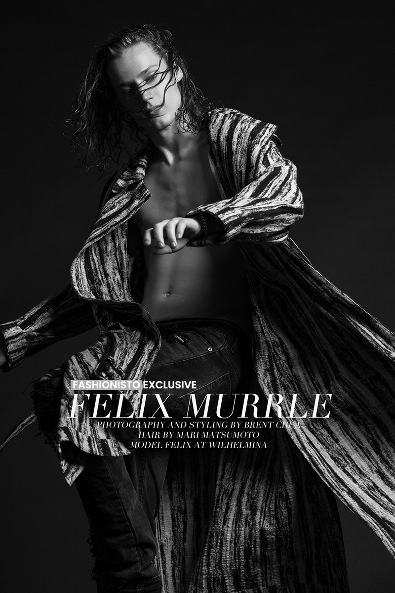 Fashionisto Exclusive: Felix Murrle photographed by Brent Chua