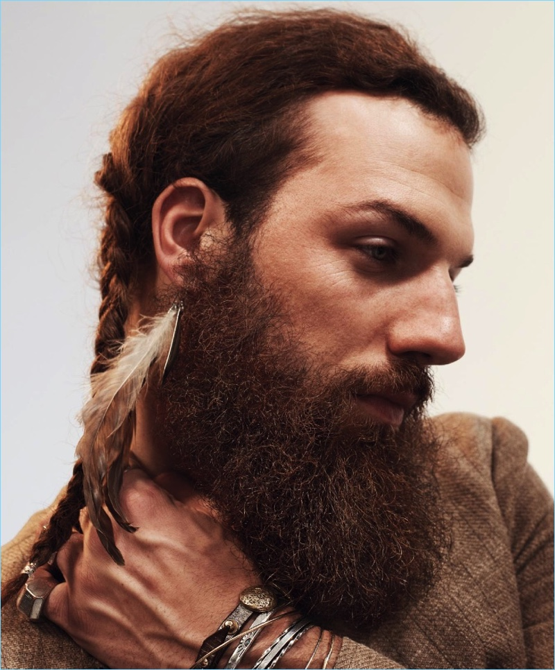 Phil Sullivan serves up braids inspired by Willie Nelson.