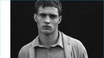 Julian Schneyder & Andrey Zakharov Front Giorgio Armani's Spring '17 Campaign