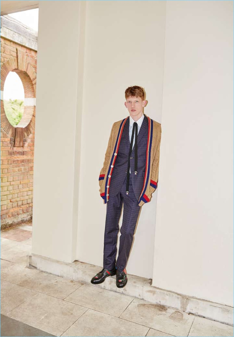 Connor Newall Charms in Gucci for Luel Editorial
