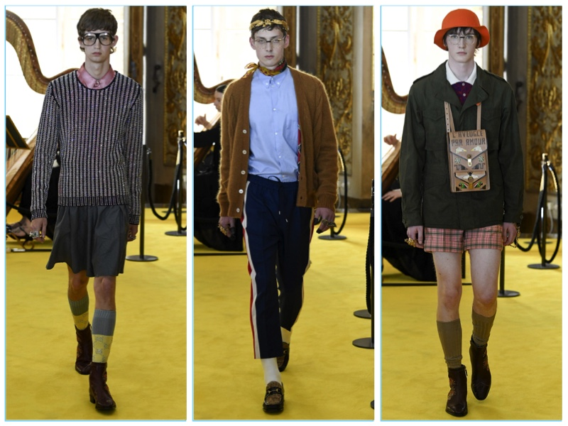 Gucci Cruise 2018 Men's Collection
