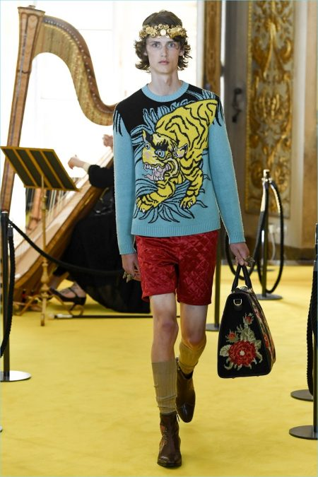 gucci cruise 2018 men u0026 39 s runway collection
