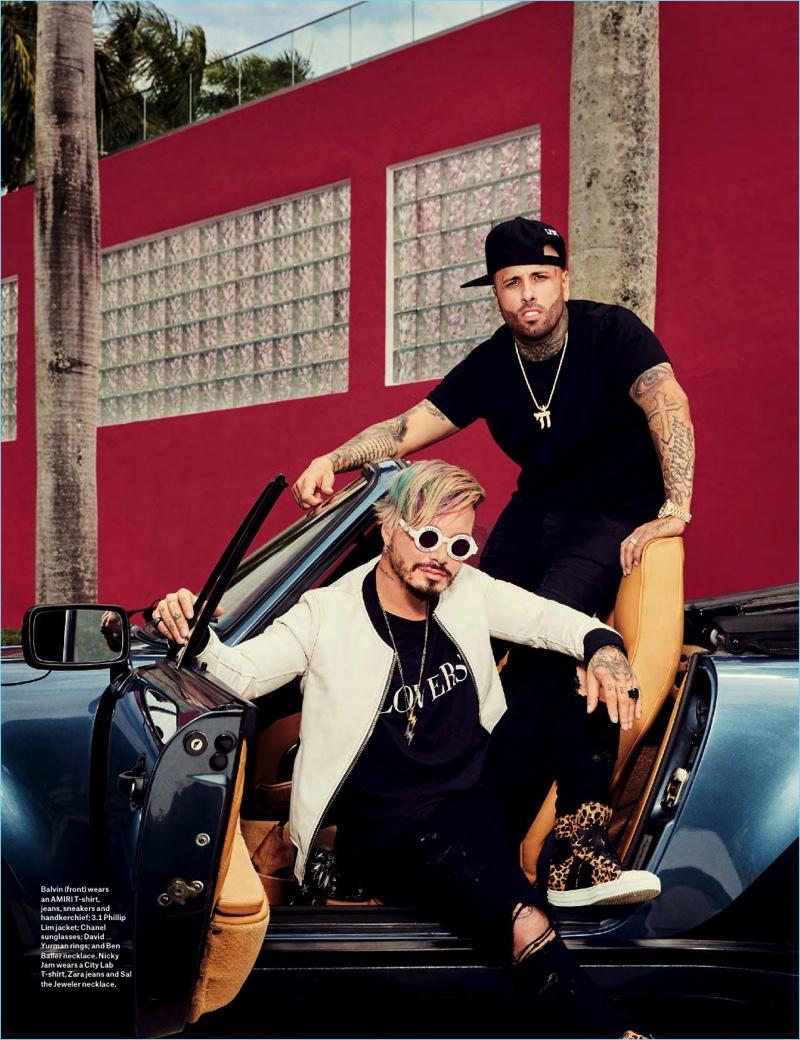 Latin S New Beat J Balvin Amp Nicky Jam Cover Billboard