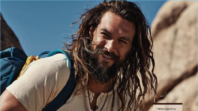 The Great Escape: Jason Momoa Stars in GQ Fashion Shoot