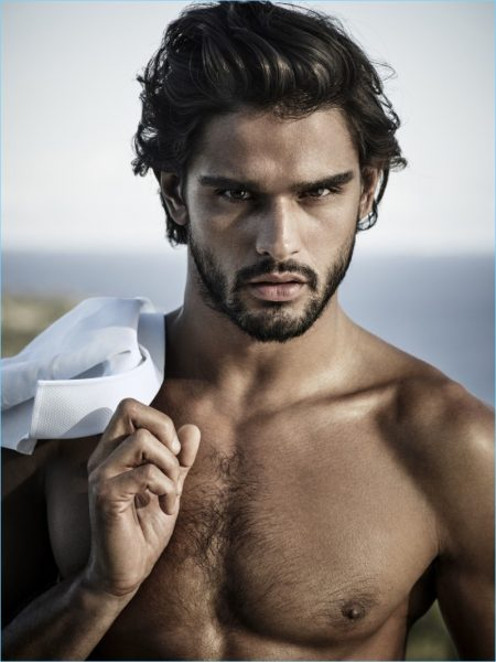 Marlon Teixeira Reunites with Jimmy Choo Man, Stars in Ice Fragrance Campaign