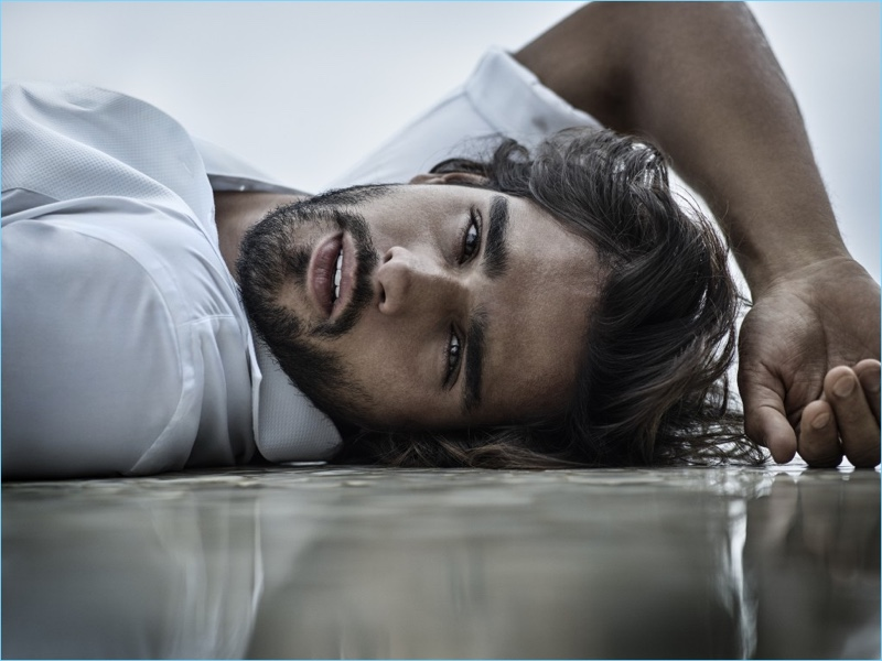 Jimmy Choo Man reunites with Marlon Teixeira for its Ice fragrance campaign.