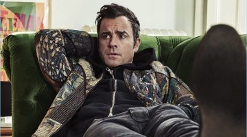 The Bomber Squad: Justin Theroux Stars in Esquire Fashion Shoot