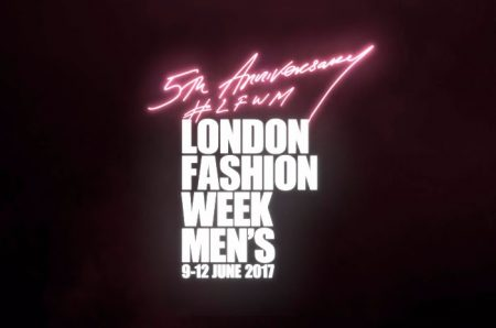 London Fashion Week Men's Spring/Summer 2018 Show Schedule
