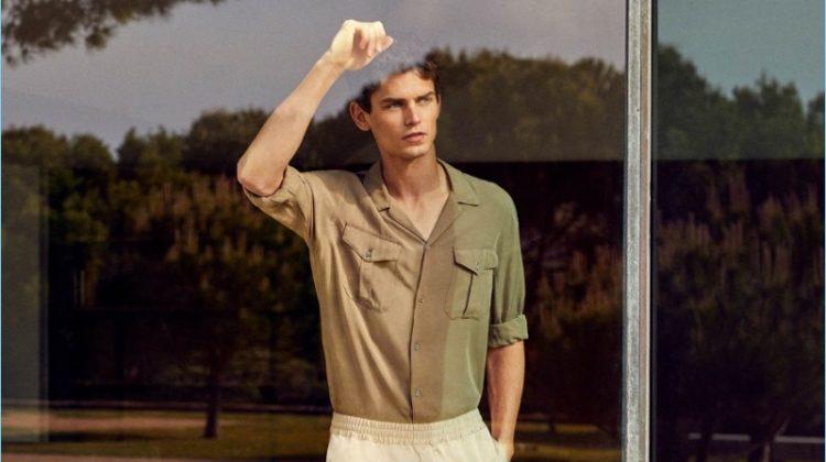 Frames of Summer: Arthur Gosse Dons Chic Mango Man Styles