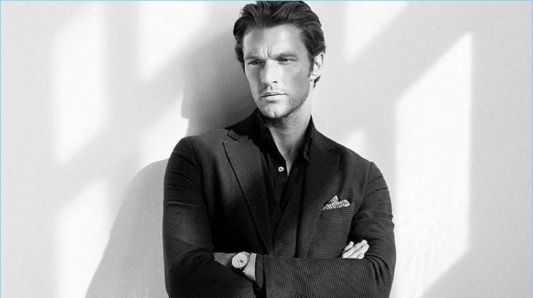 Everlasting Elegance: Shaun DeWet Models Classic Massimo Dutti Styles
