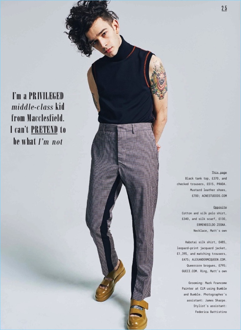 A Northern Soul Matt Healy Stars In The Sunday Times