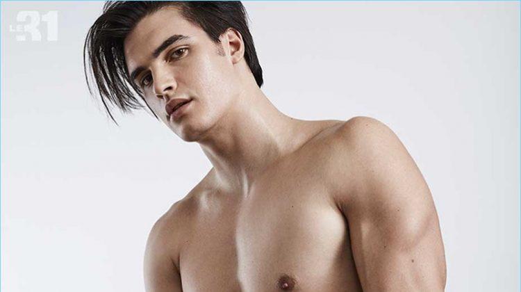 Industriel Loft: Matthew Terry Models Underwear for Simons