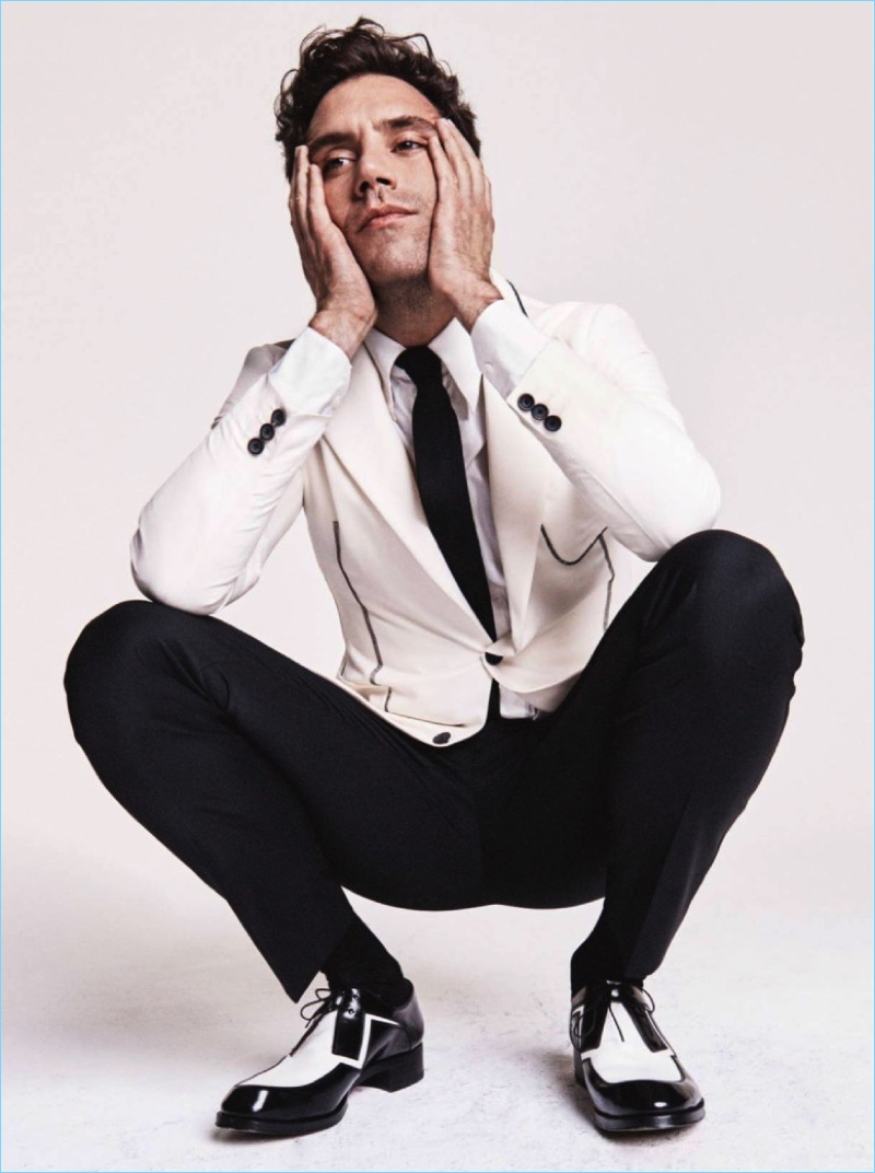 Magic Mika: GQ France Enlists Mika for Charming Suiting Story