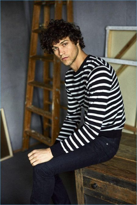 Miles McMillan Goes Casual in Todd Snyder Denim