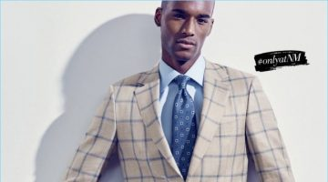 Color Theory: Corey Baptiste Dons Smart Tailoring for Neiman Marcus
