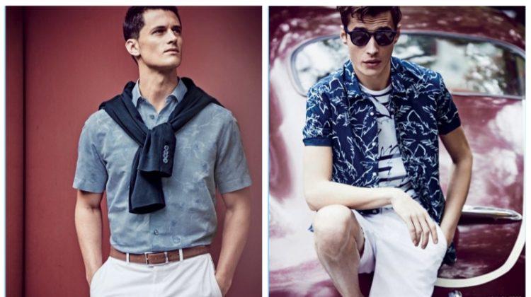 Scenes from the City: Adrien Sahores & Garrett Neff Model Designer Styles for Neiman Marcus