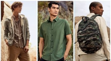 Nordstrom rounds up military and safari inspired men's styles for spring 2017.