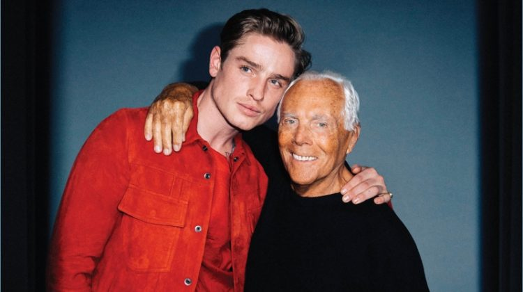Patrick O'Donnell Plays Fashion Editor for VMAN