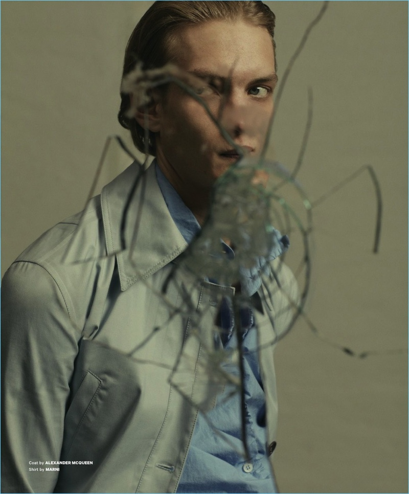 Perfect Day: Paul Boche for Essential Homme