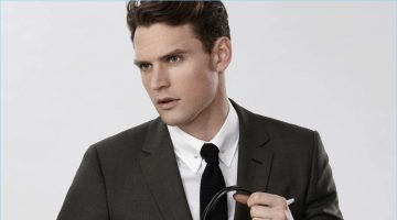Carry It Off: Guy Robinson Signs on for Bag Duty with Reiss