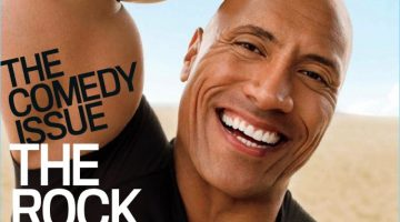 The Rock covers the June 2017 issue of GQ.