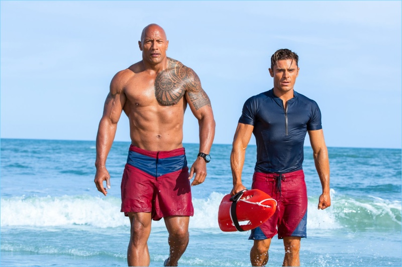 The Rock and Zac Efron come together for a modern revival of Baywatch.
