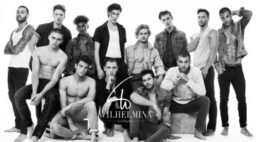 Wilhelmina Los Angeles models come together for a spring-summer 2017 promo shoot.