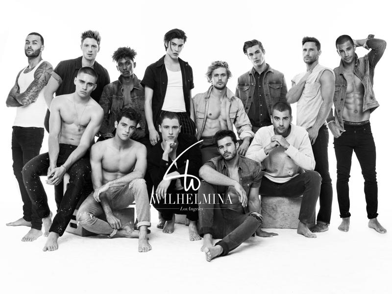 Wilhelmina Los Angeles models come together for a spring-summer 2017 promo shoot.
