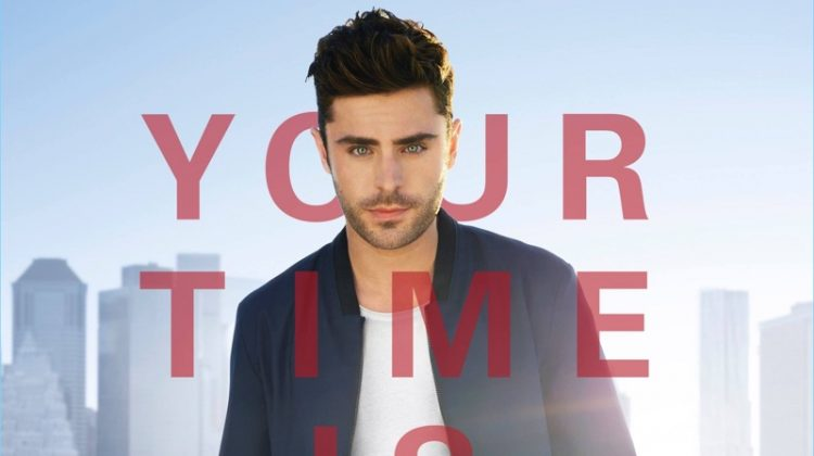 Zac Efron Fronts HUGO Fragrance Campaign, Dons Label for 'Baywatch' Promo