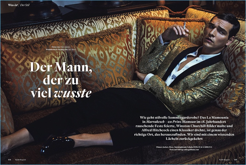 Alexandre Cunha Travels to Marrakesh with Robb Report Germany