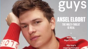 Ansel Elgort covers the July 2017 issue of Nylon Guys.