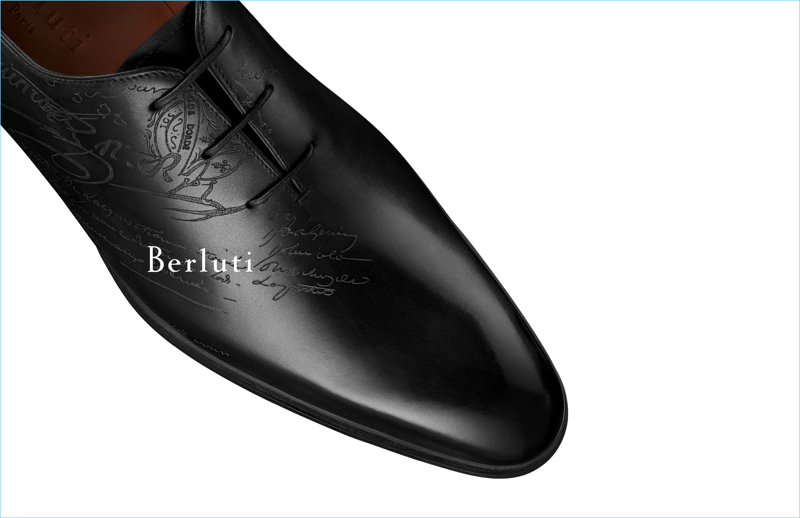 Showcasing a classic, Berluti brings attention to its Alessandro Oxford shoe for fall-winter 2017.