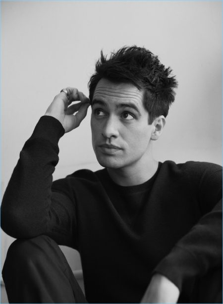 Brendon Urie Links Up with Interview, Talks 'Kinky Boots' & New Music