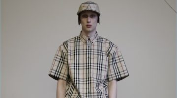Gosha Rubchinskiy collaborates with Burberry for spring-summer 2018.