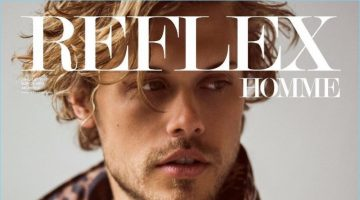 Christopher Mason covers the most recent issue of Reflex Homme.