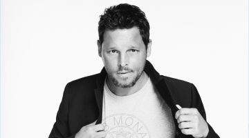 Club Monaco Launches #ClubThrowback Collection with Justin Chambers