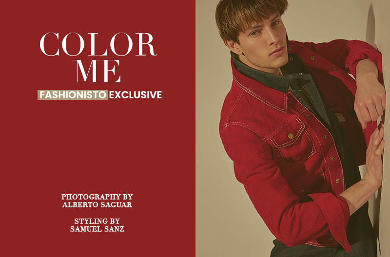 Fashionisto Exclusive: Thomas Barry photographed by Alberto Saguar