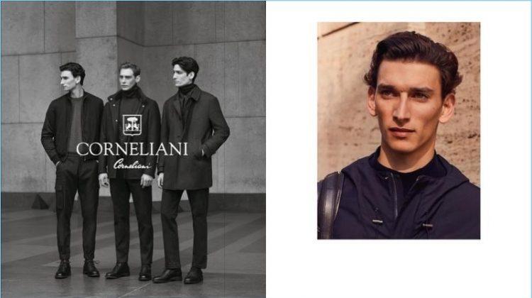Corneliani Showcases Classic Menswear for Fall '17 Campaign