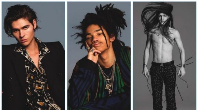 Will Peltz, Luka Sabbat, and Ian Mellencamp grace the pages of DSection.