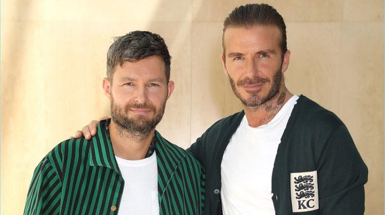 David Beckham Lends His Star Power to Kent & Curwen Spring '18 Presentation