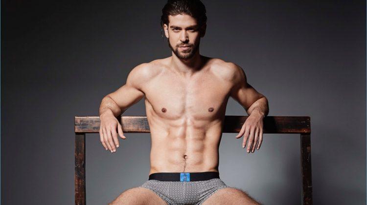 Azzaro Paris Launches Men's Underwear, Daniel Vargas Stars in Campaign