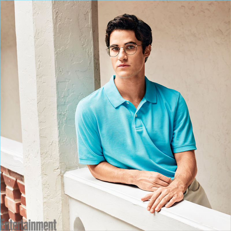 Darren Criss as Andrew Cunanan in The Assassination of Gianni Versace: American Crime Story