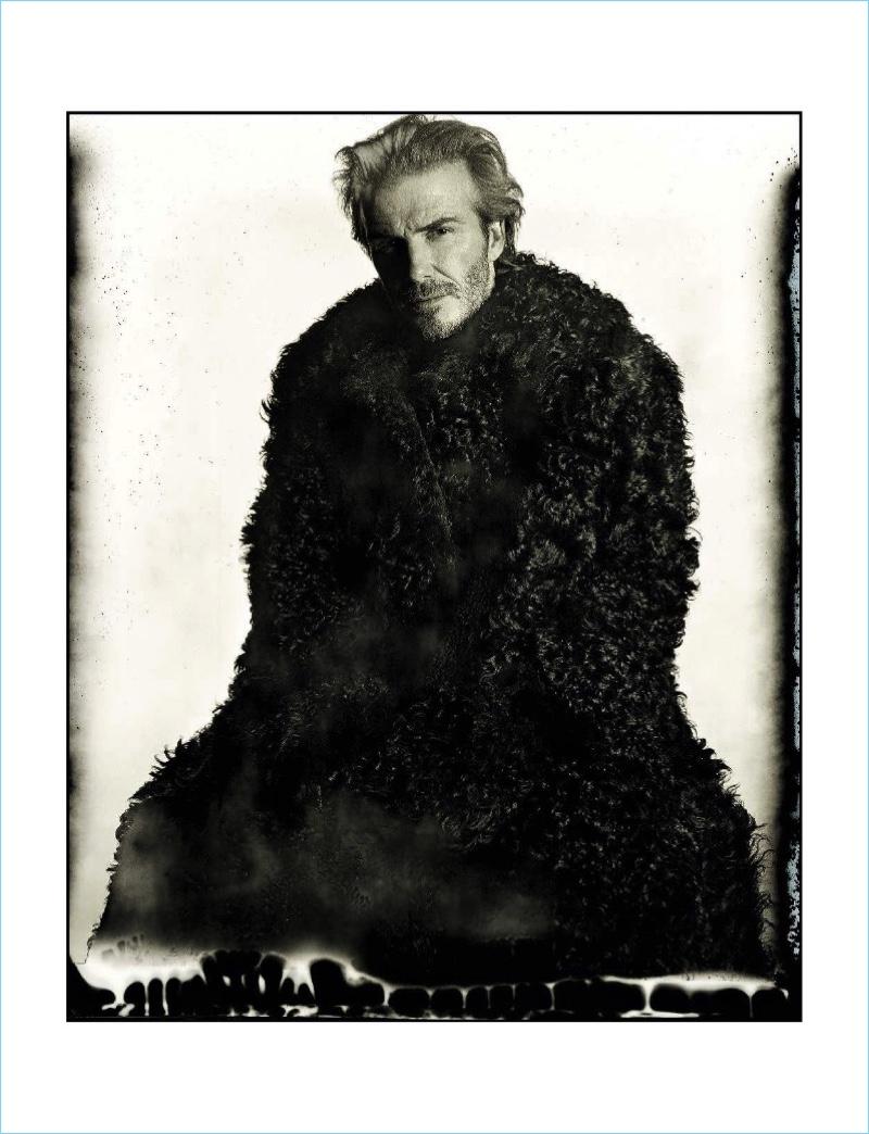 Facing the Future: David Beckham Covers L'Uomo Vogue