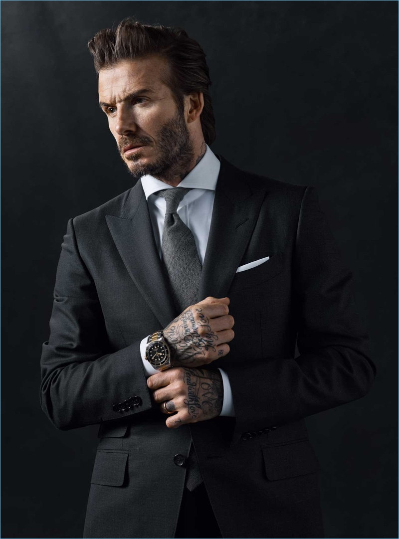 Attraktiv David Beckham Signs on as Tudor Brand Ambassador NF58