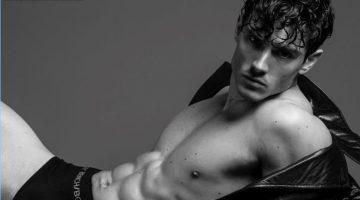 Diego Barrueco Stars in Black & White BENCH/ BODY Underwear Shoot