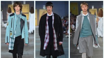 Diesel Black Gold unveils its spring-summer 2018 men's collection during Milan Fashion Week.
