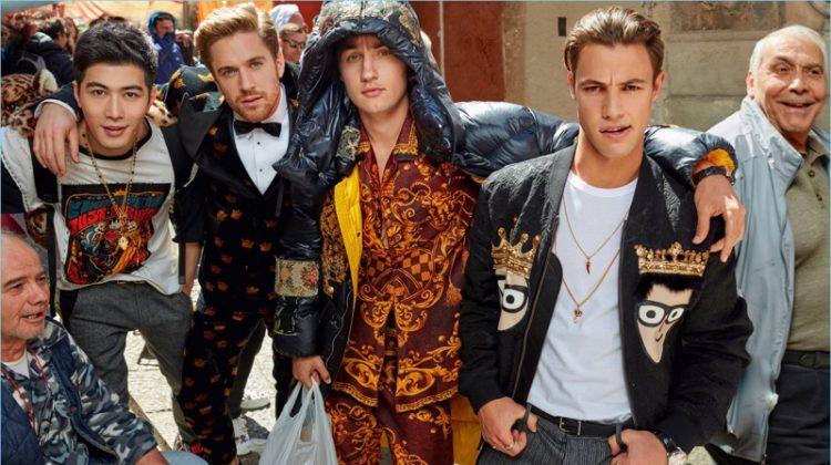 Cameron Dallas, Austin Mahone + More Head to Palermo for Dolce & Gabbana Fall '17 Campaign