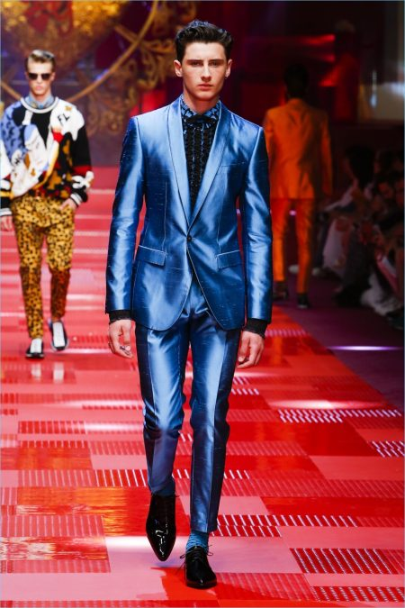 9a59dd9bf10a Dolce & Gabbana Spring/Summer 2018 Men's Runway Collection | The ...